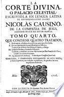 La Corte Divina o Palacio Celestial. trad. del latín