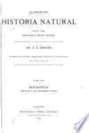 La creación: historia natural. Division de la obra