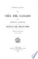La cría del ganado en la República Argentina