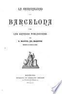 La criminalidad en Barcelona y en las grandes poblaciones