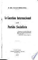 La cuestión internacional y el Partido socialista