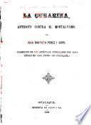 La Curarina, antidoto contra el Montalvismo