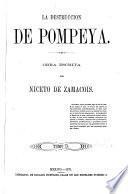 La destruccion de Pompeya