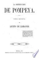 La destruccion de Pompeya