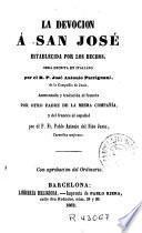 La Devocion á San José establecida por los hechos