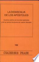 La didascalia de los apóstoles