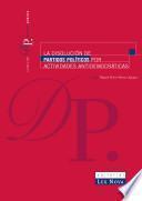 La disolución de partidos políticos por actividades antidemocráticas (e-book)