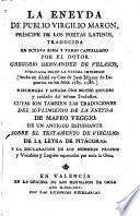 La Eneyda traducida en octava rima y verso castellano