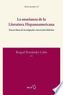 La enseñanza de la literatura hispanoamericana
