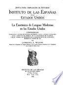 La enseñanza de lenguas modernas en los Estados Unidos