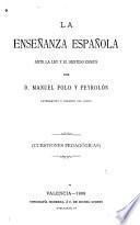 La enseñanza española ante la ley y el sentido común