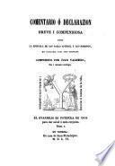 La epistola de San Pablo a los Romanos i la I. a los Corintios, ambas traduzi, das i comentadas