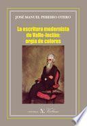 La escritura modernista de Valle-Inclán