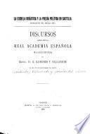 La escuela didáctica y la poesía política en Castilla durante el siglo XV
