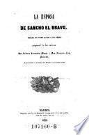 La esposa de Sancho el bravo