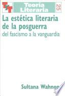 La estética literaria de la posguerra
