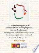 La evaluación de políticas de desarrollo a través de una perspectiva de derechos humanos