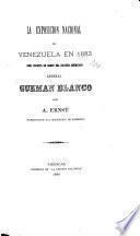 La exposición nacional de Venezuela en 1883