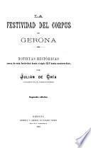 La festividad del Corpus en Gerona