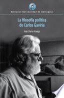 La filosofía política de Carlos Gaviria