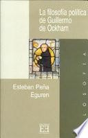 La filosofía política de Guillermo de Ockham