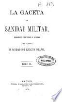 La Gaceta de sanidad militar