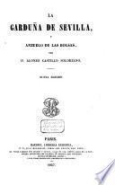 La garduña de Sevilla, y anzuelo de las bolsas