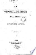La geografía de España del Edrisí