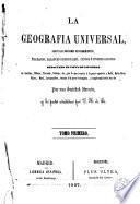 La Geografia universal, 1