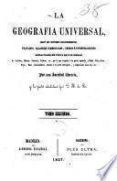 La Geografía universal, 2