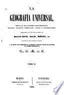 La Geografía universal