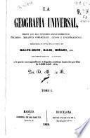La Geografía Universal: t. 2