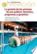 La gestión de piscinas de uso público