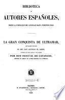 La gran conquista de Ultramar, que mando escribir el rey D. Alfonso el Sabio