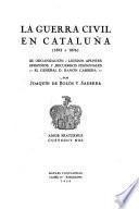 La guerra civil en Cataluña (1872 a 1876)