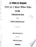 La guerra de Nicaragua