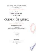 La guerra de Quito