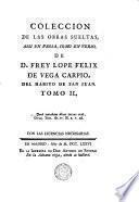 La Hermosura De Angelica ; La Philomena ; Descripcion De La Tapada