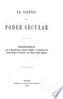 La iglesia i el poder secular