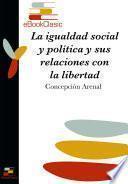 La igualdad social y política y sus relaciones con la libertad (Anotado)