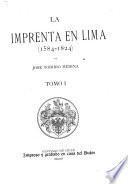La imprenta en Lima (1584-1824)