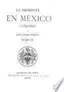 La imprenta en México