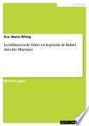 La influencia de Darío en la poesía de Rafael Arévalo Martínez