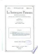 La Instrucciön primaria. Revista quincenal