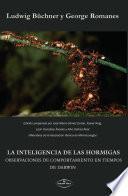 LA INTELIGENCIA DE LAS HORMIGAS. OBSERVACIONES DE COMPORTAMIENTO EN TIEMPOS DE DARWIN