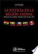 La justicia en la región andina