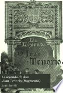 La leyenda de don Juan Tenorio (fragmento)