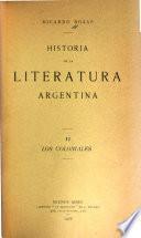 La literatura argentina: Los coloniales