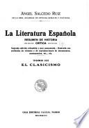 La literatura española: El clasicismo