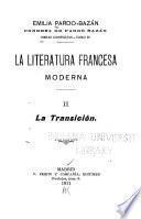 La literatura francesa moderna